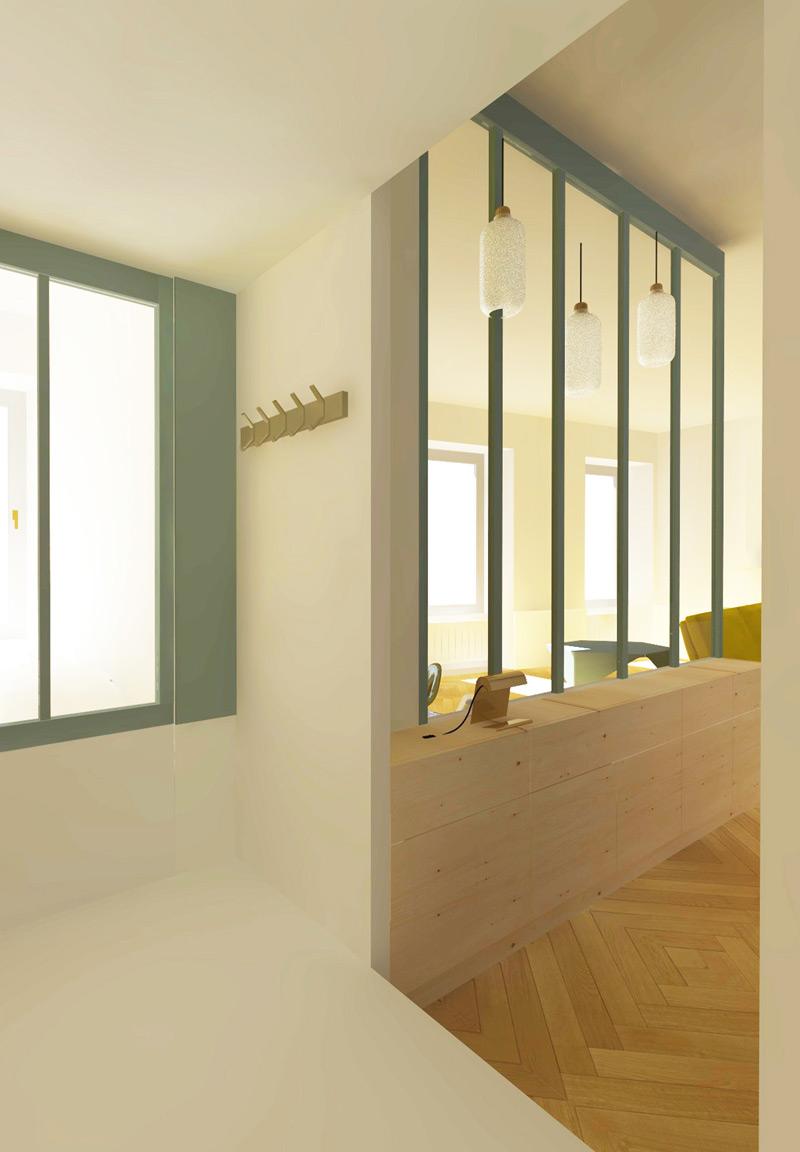 Rénovation Salle De Bain Morlaix rénovation d'un appartement en centre-ville - calc architectes